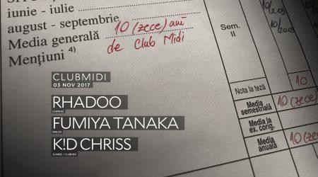 Club Midi turns 10 with Rhadoo & Fumiya Tanaka