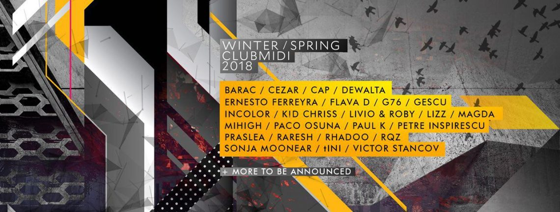 Club Midi announces its winter-spring lineup