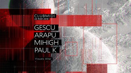 Club Midi: Gescu, Arapu, Mihigh, Paul K
