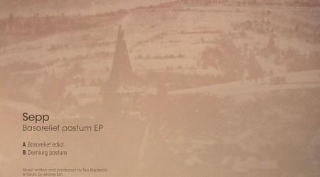 Sepp – Basorelief Postum