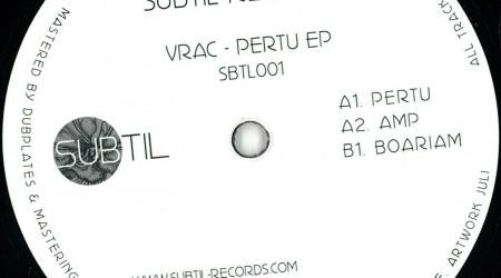 Vrac – Pertu Ep (vinyl only)
