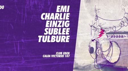 Charlie b2b Emi at Club Eden | 28.11.2014