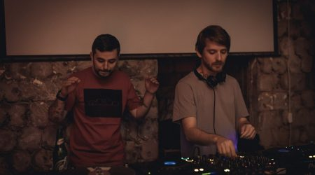 Nu Zau b2b Crihan at Squat 3/4 (Moscow) | 10.11.2017