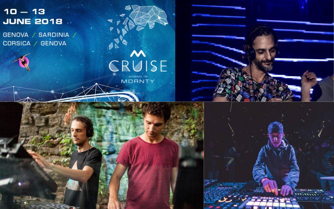 Ricardo Villalobos, SIT, Ion Ludwig announced to play at Mdrnty Cruise 2018