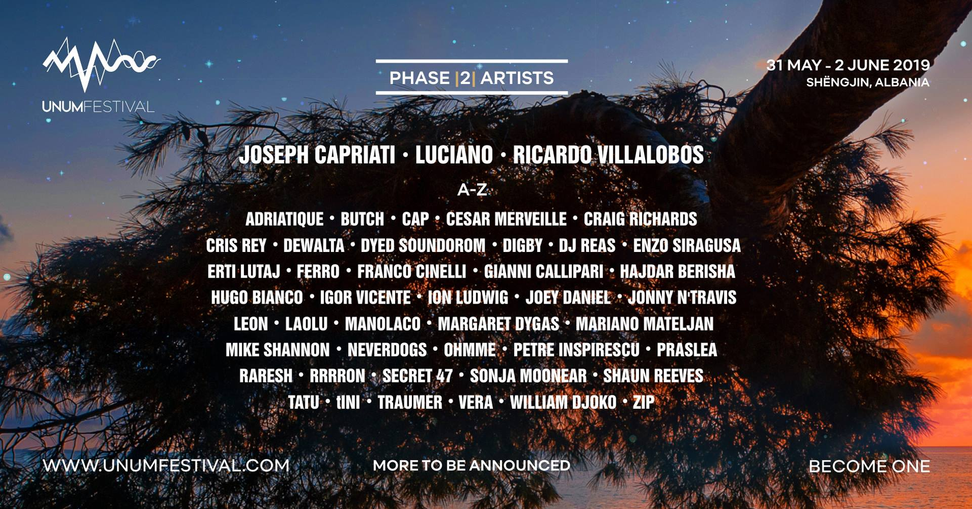 Brand new Albanian festival UNUM features Ricardo Villalobos, Zip