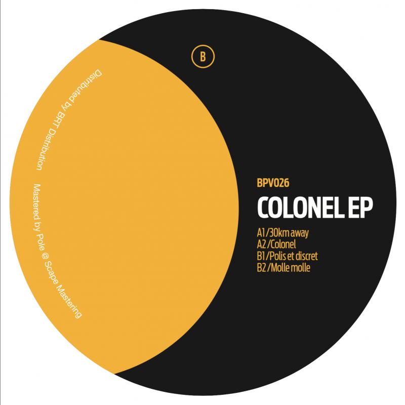 David Lunch – Colonel EP // BPV026